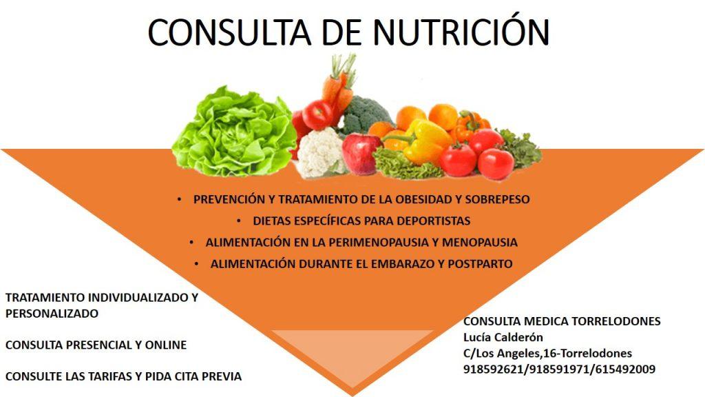CARTEL NUTRICION